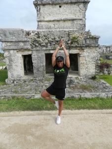 Love Yoga Mayan ruins