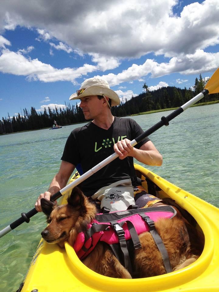 Rob kayak